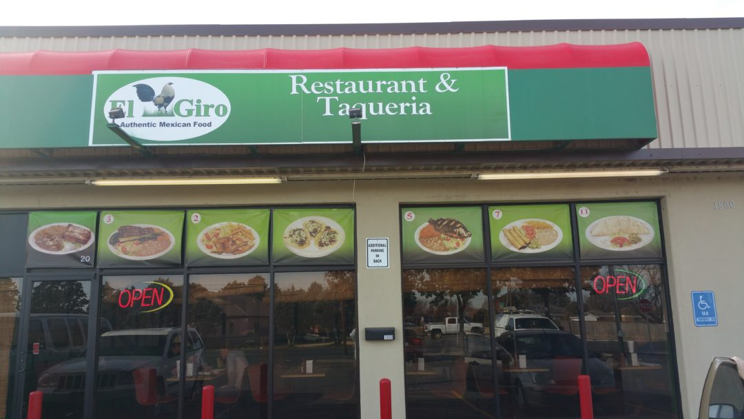 El Giro Authentic Mexican Food Restaurant Is Located At 1880 Bell Street In Amarillo Texas Open 7 Days A Week From 8 M To 9 P Serving Great