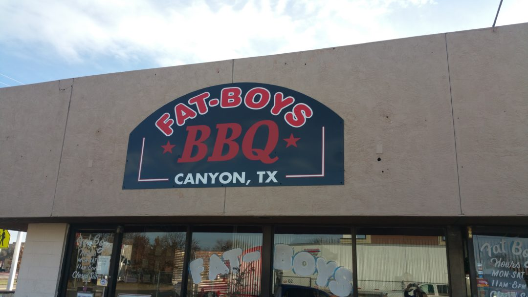 Fat Boys Bbq Is Located At 104 North 23rd Street In Canyon Texas They Are Open Monday Through Saay From 11 A M To 8 P And Closed On Sunday Best