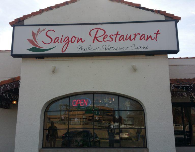 Saigon Restaurant Amarillo Texas Menu